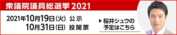 衆議院議員総選挙 2021